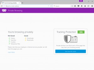 Private Browsing Tracking Protection